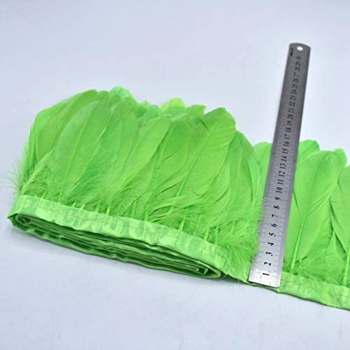 Daisymusee 10Meters Colorful Feathers Sewing Direct sale of manufacturer Trims Fringe Plume OFFicial store