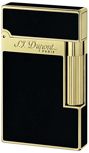 S.T–Accendino Dupont Linea 2lacca Nera Dupont Nero e Oro
