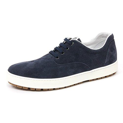 Hogan B4926 Sneaker Uomo H242 Scarpa Allacciata Blu Chiaro Shoe Man [6.5]