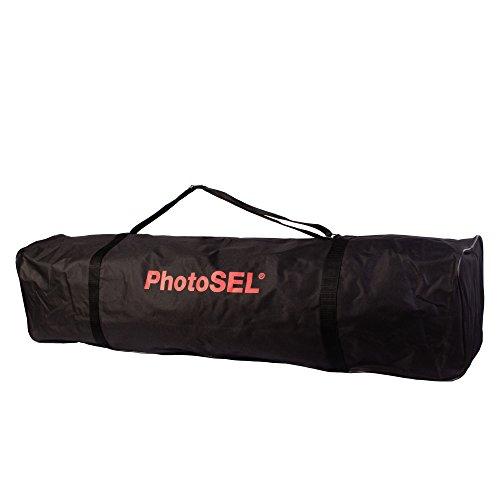 PhotoSEL BG3115 - Bolsa de Transporte Resistente para Soporte de Fondo/Luz o para Trípodes