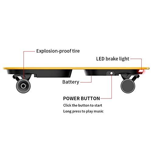 Wasserdichtes Elektro Skateboard ABIN für Kinder Bild 2*