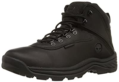 Timberland Men's White Ledge Mid Waterproof Ankle Boot,Black,7 M US