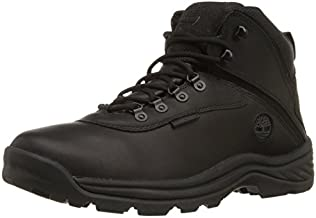Timberland Men's White Ledge Mid Waterproof Ankle Boot,Black,12 W US