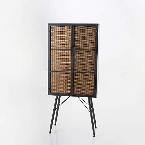 Amadeus - Armoire Grillage 2 Portes 70 cm x 161 cm x 38 cm