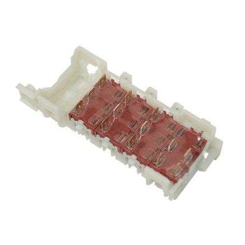 Interruptor banco para lavadora Kelvinator equivalente al 91206995