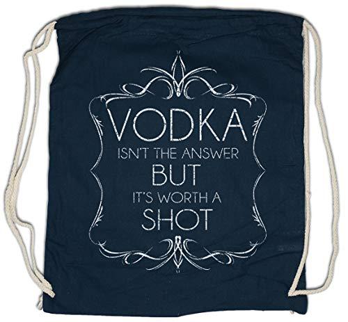 Urban Backwoods Vodka Isn't The Answer Sporttas Gym Zak Sportzak Rugzak
