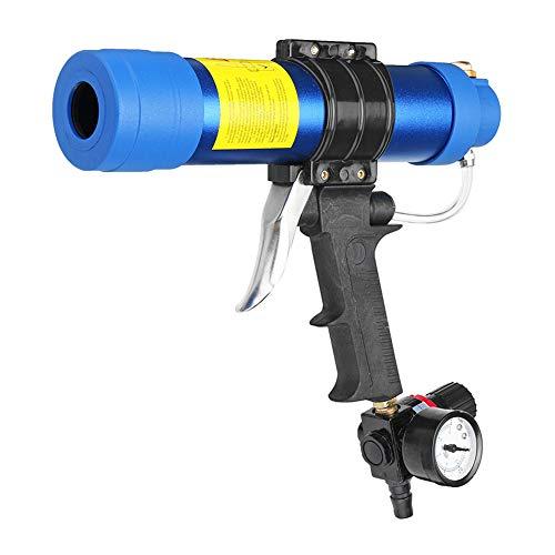 310ML Pneumatische Sealant Guns, Einstellbare pneumatische Glas Kleber Versiegelung Fugenpistole Hartkleber Klebstoff-Applikator Pistole