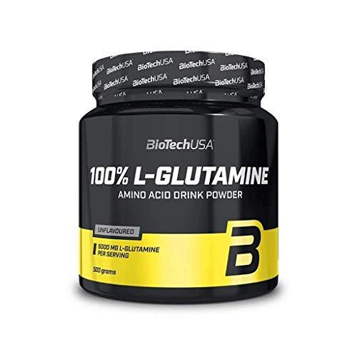 Biotech USA 100{e2886d9daa714832844741770befdd0a7f6ad419da745f3aa9c522b877fa05da} L-Glutamine Neutral 500g