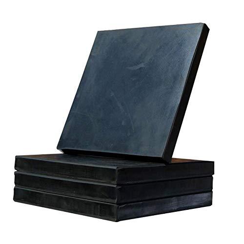 Lezed Pad de goma de amortiguación Esterilla De Goma Universal Almohadillas antivibración de la Lavadora Adecuado Para Electrodomésticos, Refrigeradores,Silla de mesa 10 Piezas Negro 50 * 50 * 10mm