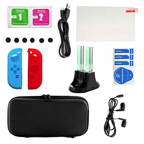Gamefitz 14 in 1 Accessories Kit for Nintendo Switch