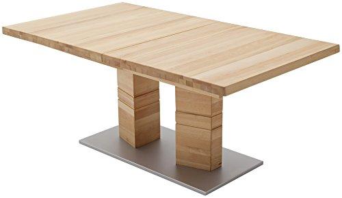 Robas Lund, Tisch, Esszimmertisch, Cuneo A, Buche/Massivholz, 140 x 90 x 77 cm, CUN14AKB