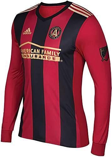 adidas Men's MLS Climacool Authentic Long Sleeve Jersey, Atlanta United FC XX-Large