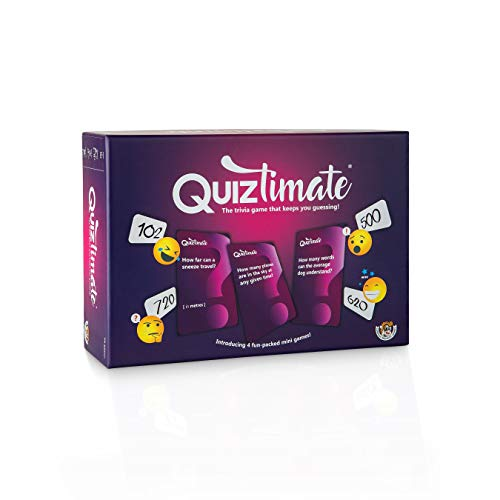 QUIZTIMATE - The trivia game that keeps you guessing! - The hilarious 4-round quiz game that anyone...