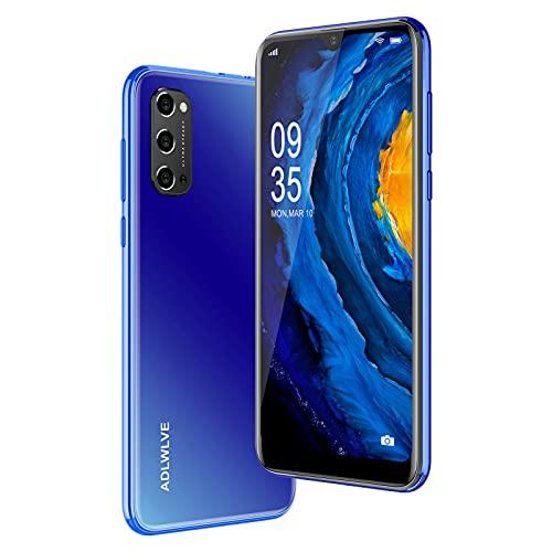 4G Smartphone Offerta del Giorno,3GB RAM 32GB ROM,6.3 Pollici Waterdrop Android 9.0 Cellulari e Smartphone 8MP Fotocamera Telefono Cellulare con Wifi Dual SIM 4600mAh Cellulare Offerta (blu)
