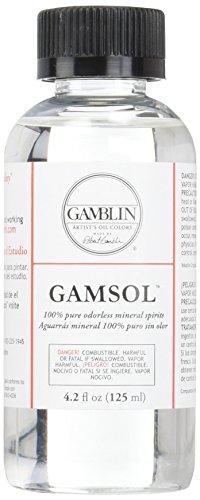Gamblin Gamsol Odorless Mineral Spirits Bottle