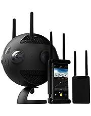 Insta360 Pro 2 Professionele 8K 3D-camera met 6 f/2,4 HD-lenzen, 360 ° -video-opname met tot 8K, 3D-megapixel-foto, RAW, HDR, wifi-verbinding