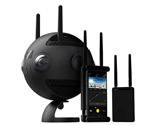 Insta360 Pro 2 - Professionelle 8K 3D-Kamera mit 6 f / 2,4 HD-Einzelobjektiven, 360 ° -Videoaufzeichnung mit bis zu 8K, 3D-Megapixel-Foto, RAW, HDR, Wi-Fi-Verbindung