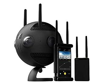 Insta360 Pro 2 - Caméra Professionnelle 8K 3D avec 6 Objectifs HD Haute Définition Indépendants f/2.4, Enregistrement Vidéo 360° jusqu'à 8K, 60 Megapixel 3D Photo 360°, RAW, HDR, Connexion Wi-Fi (B07GPRGMP4) | Amazon price tracker / tracking, Amazon price history charts, Amazon price watches, Amazon price drop alerts