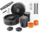 CRWON PTH50 Pallet Jack Wheel Replacement Kit Set Complete