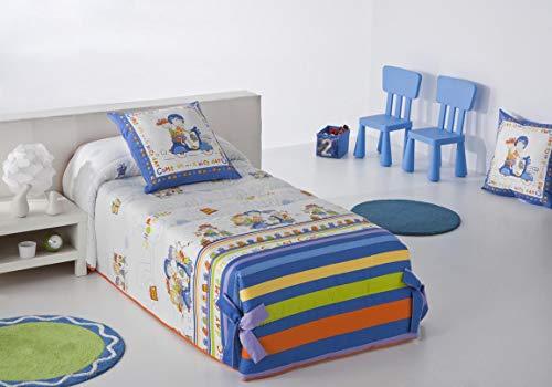 JVR Shopping conforter säng med 160 cm bred blå