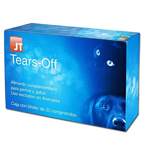 JTPharma Tears-Off - Alimento Complementario para Mascotas, 60 Comprimidos
