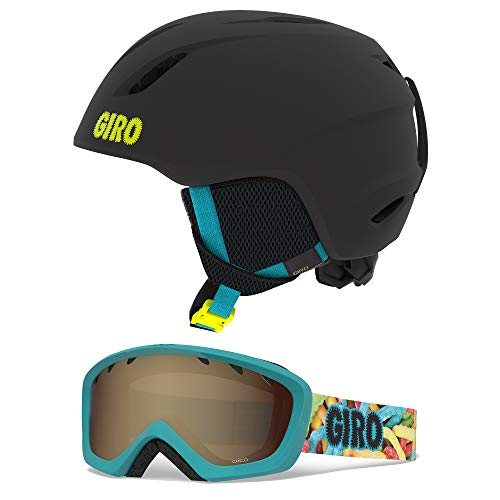 Giro Launch CP Youth Snow Helmet w/Matching Goggles - Matte...