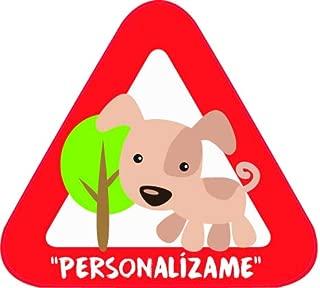 Cartel madera Peludo a bordo Cartel beb/é a bordo mascota perro.