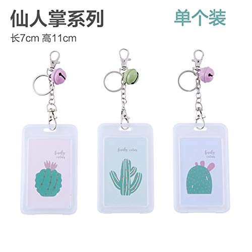 AAPP SHOP Transparent hard shell bus card set Creative rice card IC-kaart ledenkaart kaartset ID card protector