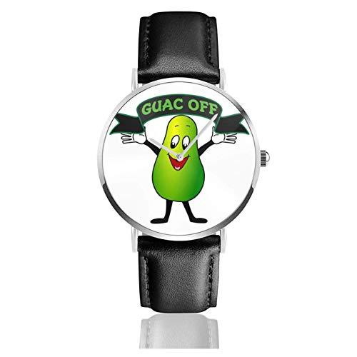 Divertido Reloj de Pulsera con Aguacate, Temporizador, Deportes, Adolescentes, Estudiantes, Reloj de Cuarzo, con Pilas, 38 mm de diámetro