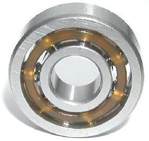 VXB Brand 8 Skateboard Bearing Nylon Cage Open Type: Deep Groove Ball Bearings Retainer: Nylon (Less Friction & Less Weight = Higher Speed) Lubrication: Oil Preserved
