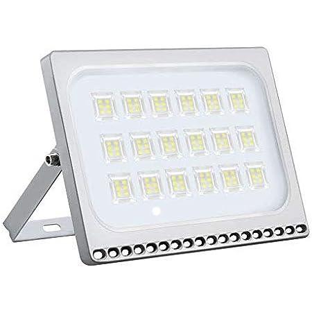 20W 30W 50W 100W LED Flutlicht Scheinwerfer Kaltweiß IP66 Außen Garten 220V-240V
