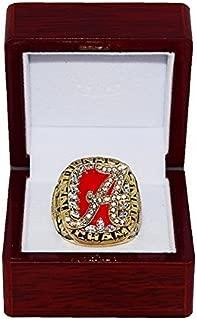 UNIVERSITY OF ALABAMA (Nick Saban) 2009 NCAA BCS NATIONAL CHAMPIONS (Crimson Tide) Rare & Collectible High-Quality Replica MLB Baseball Championship Ring