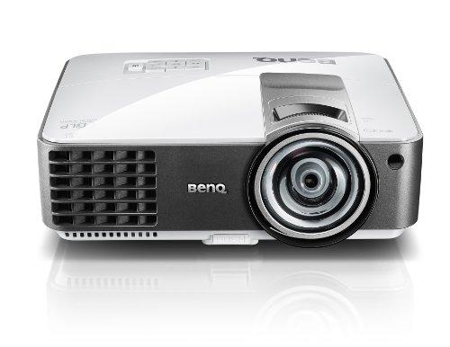 BenQ MW814ST 2500 Lumen WXGA Short Throw 3D DLP Projector,Black/silver