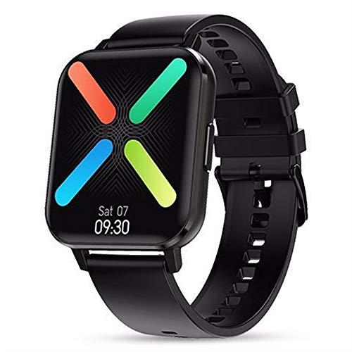 Smartwatch 2020 bluetooth reloj inteligente 1,78 pulgadas HD de la música del reloj de alarma de detección de monitor de oxígeno en sangre de detección de la frecuencia cardíaca movimiento de la panta