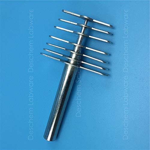 Deschem Rubber Stopper Hole Puncher,7PCS/Set,Rubber-Plug Cutter