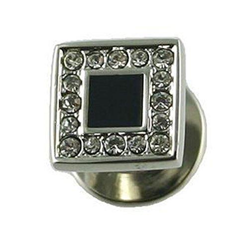Select Gifts Robe en cristal carré goujons Boîte noire