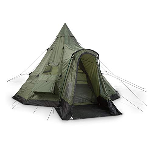 Guide Gear Deluxe Teepee Tent, 14' x 14'