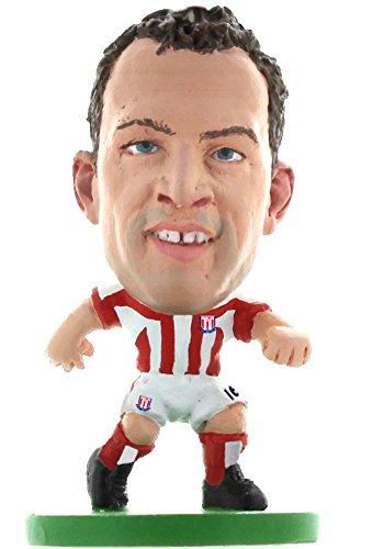 SoccerStarz Stoke City Charlie Adam Home Kit