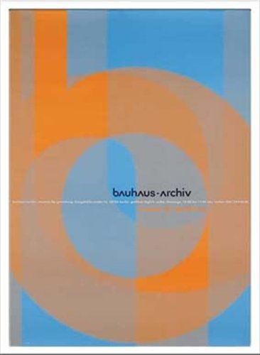 Bauhaus/バウハウス《Archiv 1966 Doppelpunkt/IBH70045》☆額付グラフィックアートポスター通販☆