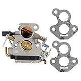 Fdit Carburador de aleación de Aluminio, Accesorio de Repuesto para Motosierra, Apto para Husqvarna 135140435 435e 440 440e
