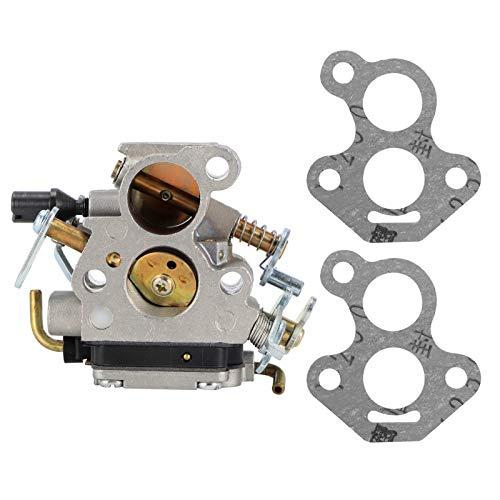 zhoul Accesorio de Motosierra de aleación de Aluminio, carburador, Pieza de Repuesto de carburador para Husqvarna 135140435 435e 440 440e