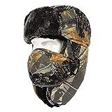 TZTED Passamontagna, Balaclava Cappuccio Multifunzione Hood Maschera da Sci Cappello Maschera Biker Snow Board Protezione dal Freddo,D,L(56~60cm)
