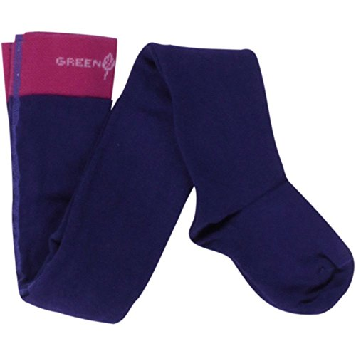 Fred'S World By Green Cotton Tights 3-Pack Collants, Violet-Violett (Purple 019354201), 18 Bébé Fille