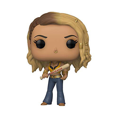 Funko 44372 POP Heroes: Birds of Prey-Black Canary (Boobytrap Battle) Collectible Figure, Multicolour, Standard