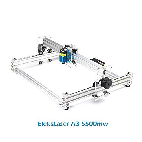 Oder EleksMaker® Eleks Machine CNC pour gravure infrarouge A3 500 mW 1600 mW 2500 mW 5500 mW EleksLaser A3 5500mw