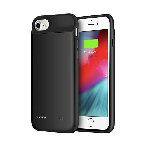 Wixann Battery case for iPhone 8/7/6/6s, 3000mAh Slim...