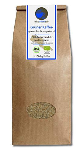 Rohebohnen -  Grüner Kaffee bio