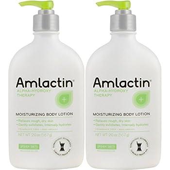 2 pack AmLactin 12% Moisturizing Lotion - 567 g / 20 oz