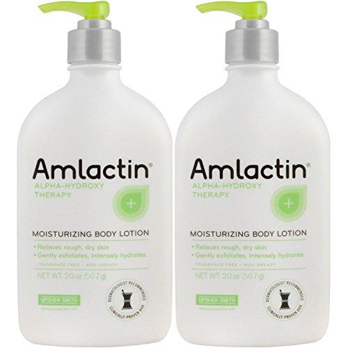 2 pack AmLactin 12% Moisturizing Lotion - 567 g /...
