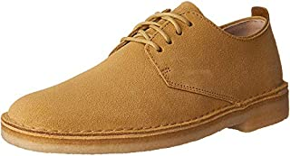 Clarks Men's Suede Desert London Oxfords, Maple, 9.5 D(M) US (B01I49IQ6S) | Amazon price tracker / tracking, Amazon price history charts, Amazon price watches, Amazon price drop alerts